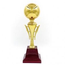 Кубок спортивный BALL C-303 (металл, пластик, h-33см, b-9см, d чаши-8,5см, золото)