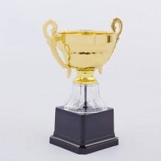 Кубок спортивный с ручками h-17 см H713D (металл, пластик, h-17см, b-13см, d чаши-8см, золото)