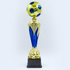 Кубок спортивный FOOTBALL ZLF8007A (h-46см, b-11см, d-9,5см, золото)