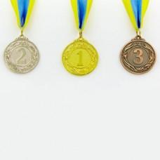 Медаль спортивная с лентой GLORY d-5см C-3969 (металл, d-5см, 23g)
