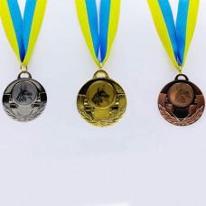 Медаль спортивная с лентой AIM d-5см Собаки C-4846-0039 (металл, 25g, 1-золото, 2-серебро, 3-бронза)