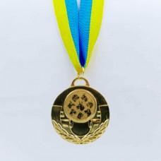 Медаль спортивная с лентой AIM d-5см Собаки C-4846-0063 (металл, 25g, 1-золото, 2-серебро, 3-бронза)