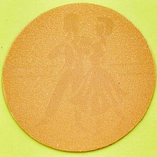 Наклейка (жетон) на медаль, кубок d-2,5см Танцы 25-0052 (1, 2, 3 место, 1уп.-120шт, цена за 1шт)