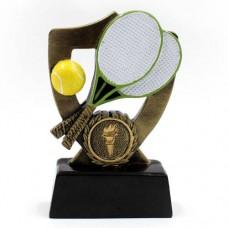 Статуэтка (фигурка) наградная спортивная Большой теннис C-1231-C (р-р 13х8х3 см)