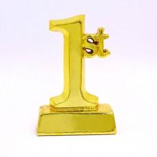 Статуэтка (фигурка) наградная 1-ое место C-1329-C2 (р-р 14х9х4,5 см)