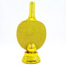 Статуэтка (фигурка) наградная спортивная Пинг-понг Ракетка для пинг-понга C-1341-A2 (р-р 25х12х7,5см)