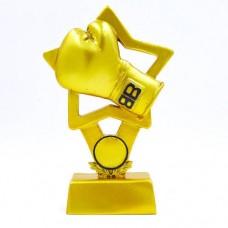 Статуэтка (фигурка) наградная спортивная Бокс Боксерская перчатка C-1512-B5 (р-р 18х11,5х5 см)