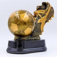 Статуэтка (фигурка) наградная спортивная Футбол Бутса с мячем C-1570-A (р-р 17,5х15,5х10 см)
