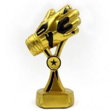 Статуэтка (фигурка) наградная спортивная Футбол Вратарская перчатка C-1717-A5 (р-р 21х13х7,5 см)