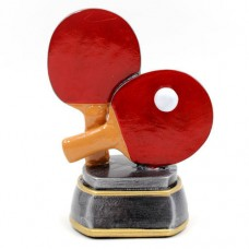 Статуэтка (фигурка) наградная спортивная Пинг-понг Ракетки для пинг-понга C-2478-C8 (р-р 14х10х7см)