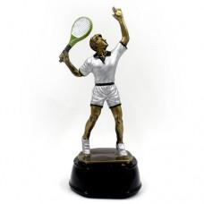 Статуэтка (фигурка) наградная спортивная Большой теннис мужской C-2669-B11 (р-р 23х10х9 см)