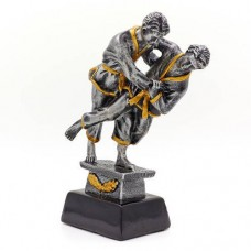 Статуэтка (фигурка) наградная спортивная Дзюдо Дзюдоисты C-3181-C (р-р 17,5х7,8х5,5 см)