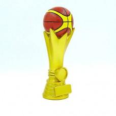 Статуэтка (фигурка) наградная спортивная Баскетбол Баскетбольный мяч C-3209-B5 (р-р 19х7х6 см)