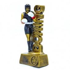 Статуэтка (фигурка) наградная спортивная Бокс Боксер C-3229-B8 (р-р 19х9х5 см)