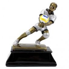 Статуэтка (фигурка) наградная спортивная Волейбол Волейболист C-3683-A11 (р-р 16х13х7 см)