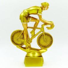 Статуэтка (фигурка) наградная спортивная Велоспорт Велосипедист C-4600-B5 (р-р 20х5х6см)