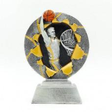 Статуэтка (фигурка) наградная спортивная Баскетбол C-4793-C1 (р-р 17x12x4 см)
