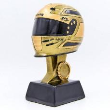 Статуэтка (фигурка) наградная спортивная Мото Шлем HX1514-B (р-р 10х9х18 см)