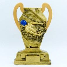 Статуэтка (фигурка) наградная спортивная Плавание Пловец HX2357-A (р-р 14х4х22 см)