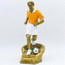 Статуэтка (фигурка) наградная спортивная Футбол Футболист HX3361-A8 (р-р 12х13х25 см)