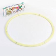 Обруч складной светящийся Hula Hoop PS HR-057 LUMINOUS HU-LA (1,05кг, пластик 6 секций, d-90см)