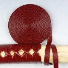 Цукамаки (оплетка рукояти) красная