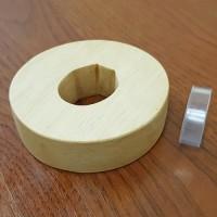 Цуба деревянная Kashima Shin Ryu