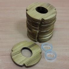 Комплект деревянных цуб 10 штук