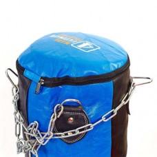 Чехол боксерского мешка Банан кожаный (без наполнителя) VELO VL-3381-90 (d-30см, h-90см)
