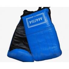 Перчатки снарядные синие Matsa (кожа)