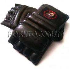 Перчатки для ММА Leather