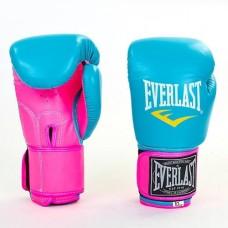 Боксерские перчатки PU на липучке ELAST BO-5033