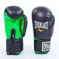 Боксерские перчатки Стрейч на липучке ELAST UR LV-5376-BK