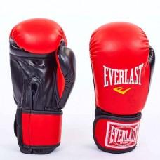 Боксерские перчатки Стрейч на липучке ELAST UR LV-5376-R