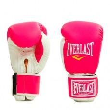 Боксерские перчатки кожезаменитель на липучке ELAST UR LV-5378-P