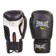 Боксерские перчатки PVC на липучке ЮНИОР ELAST MA-0033-BK