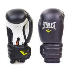Боксерские перчатки PVC на липучке ELAST MA-5018-BK