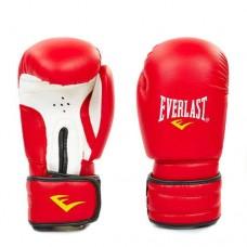 Боксерские перчатки PVC на липучке ELAST MA-5018-R