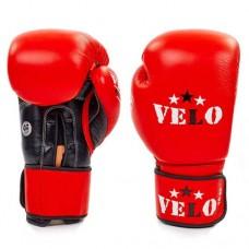 Боксерские перчатки профессиональные AIBA VELO кожаные 2080