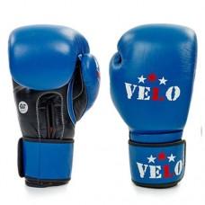 Боксерские перчатки профессиональные AIBA VELO кожаные 2081