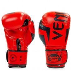 Боксерские перчатки Venum Elite NEO натуральная кожа BO-5238-R