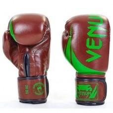 Боксерские перчатки Venum Challenger натуральная кожа BO-5245-BR
