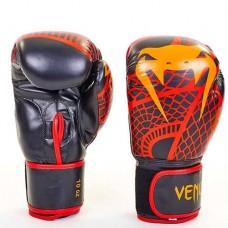 Боксерские перчатки FLEX на липучке VENUM SNAKER VL-5795-R