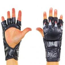 Перчатки для смешанных единоборств ММА PU ELAST BO-3207-BK