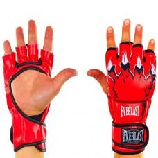 Перчатки для смешанных единоборств ММА PU ELAST BO-3207-R