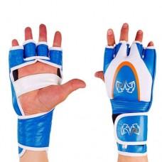 Перчатки  для смешанных единоборств ММА кожаные RIV MA-3305-B