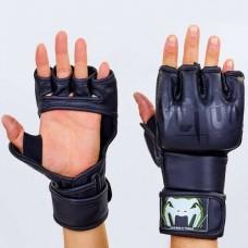 Перчатки  для смешанных единоборств  MMA PU VENUM BO-5699-BK
