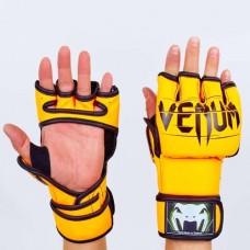 Перчатки  для смешанных единоборств  MMA PU VENUM BO-5699-OR