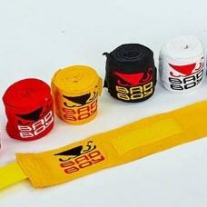 Бинты боксерские (2шт) хлопок с эластаном BAD BOY MA-5464-3 (l-3м)
