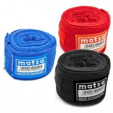 Бинты боксерские (2шт) хлопок MATSA MA-0030-2,5 (l-2,5м)